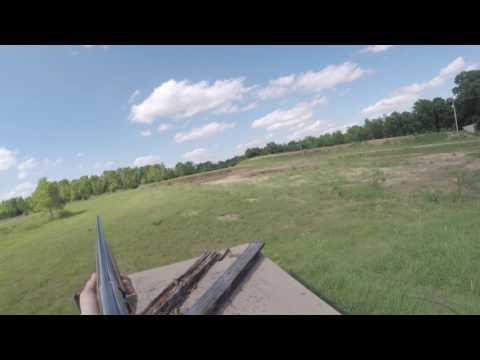 GoPro skeet shooting