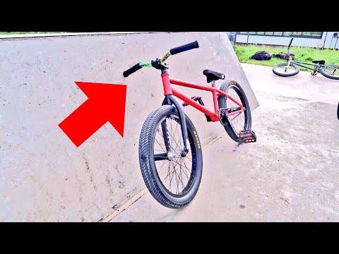 SCOOTER BARS ON BMX BIKE!!