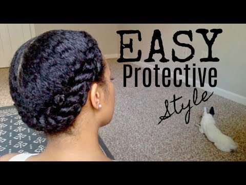 Quick and EASY Protective Style (Long wear) || AccordingToChloeC