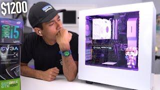 $1200 Gaming PC Build - i5 8400 GTX 1080 (w/ Benchmarks) Coffee Lake