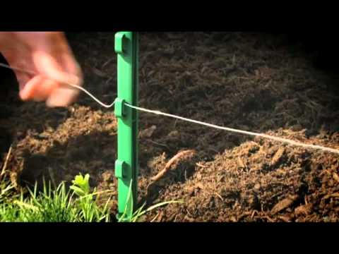 Wiring Your Havahart® Above Ground Electric Fence Kit