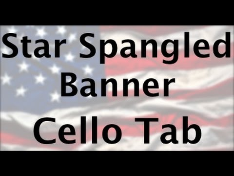 Learn Star Spangled Banner on Cello - How to Play Tutorial