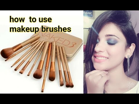 how to use makeup brushes in hindi || beginners special || shy styles