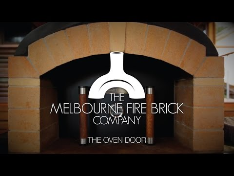 Using the Door for your Wood Fired Pizza Oven
