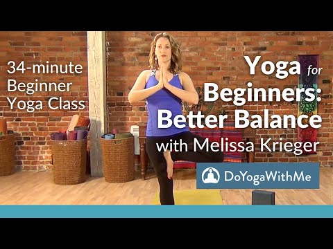Hatha Yoga for Beginners with Melissa Krieger: Better Balance