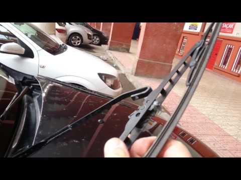 Dacia Duster wiper replacement