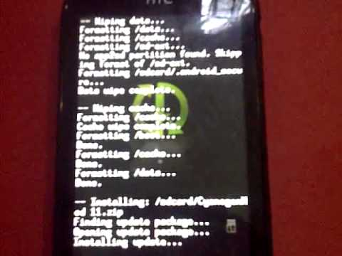 How To Install Cyanogen Mod 11 On Htc Explorer A310e (Pico)