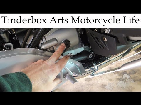 Gearbox Oil Change On A 2012 BMW R1200RT