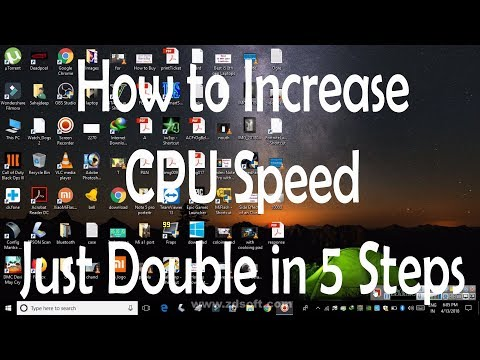 How to Boost Acer Aspire A515-51g up to 3.4ghz & How to Increase CPU Speed Just Double in 5 Steps