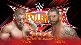 Batista vs Triple H Wrestlemania 33 Promo - HD