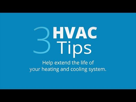 Use & Care Tips: Maintain Your HVAC System