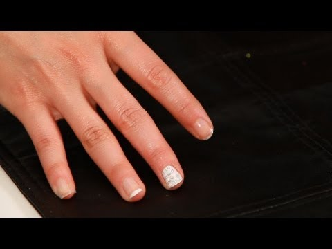 How to Do Newspaper Print Nails | Manicure Tutorials