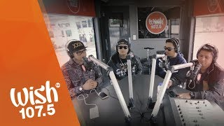 """Smugglaz, Curse One, Dello and Flict-G perform """"Nakakamiss"""" LIVE on Wish 107.5 Bus"""