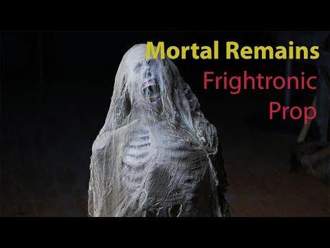 MORTAL REMAINS Moving Halloween Skeleton Decoration