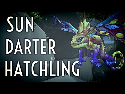WoW Guide - Sun Darter Hatchling - Cave of Consumption