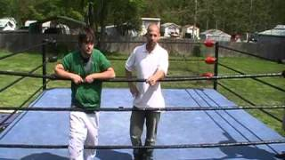Sweet Chin Music - How to do the Superkick - Shawn Michaels finisher