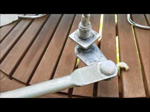 Suzuki Samurai-windshield wiper arm bushings hack