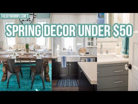 SPRING HOME DECOR IDEAS UNDER $50! | The DIY Mommy