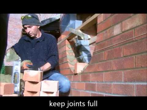 the fine art of brickwork - Porch (2 of 3) Bulls Eye