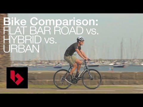 Urban vs Flat bar vs Hybrid Bikes Explained