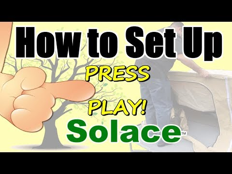 Motorcycle Camping Trailer - How to Set up Solace - a Demonstration