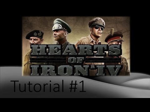 Hearts of Iron 4 Tutorial #1 Government, Manpower, and More!
