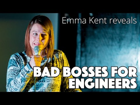 Emma Kent reveals how sexist engineering can get.