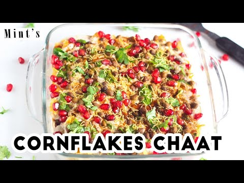 Cornflakes Chaat Recipe | Chaat Recipes | Evening Snacks Recipes