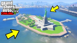 GTA 5 NEW LIBERTY CITY ISLAND MAP EXPANSION MOD IN GTA 5 (GTA 5 New Island Mods)