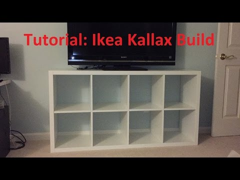 Tutorial: Ikea Kallax/Expedit Build