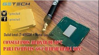 Delid Intel i7-3960X soldado, vale a pena delid com metal líquido?!