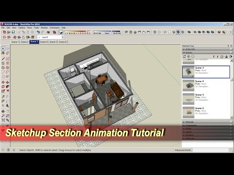 Sketchup Section Animation Tutorial