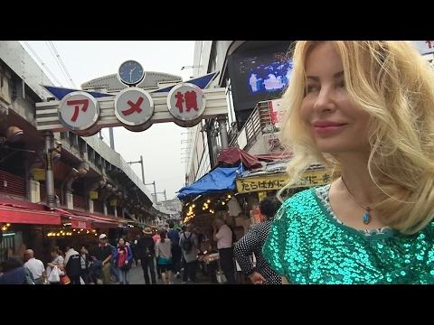 Ameya Yokocho crazy cheap market  in Ueno Tokyo Japan with Adeyto