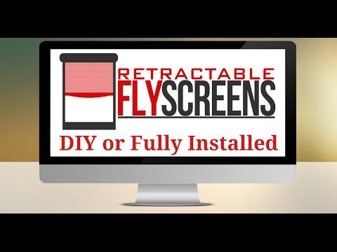 DIY Retractable FlyScreens Perth, How to Cut a DIY Retractable Fly screen