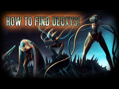 Roblox: Project Pokemon|HOW TO FIND DEOXYS!