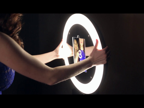 Mobibooth® Aura Ring Light iPad Photo Booth Kiosks