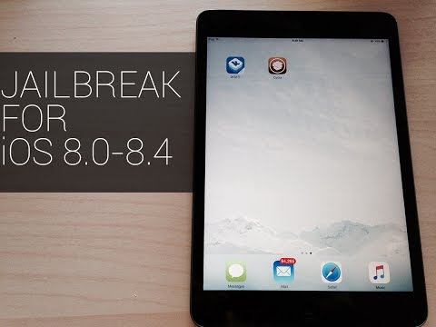 Jailbreak your iPhone, iPad, or iPod Touch iOS 8.4