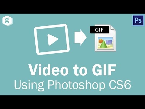 Turn a Video Into a Animated GIF (Photoshop CS6)