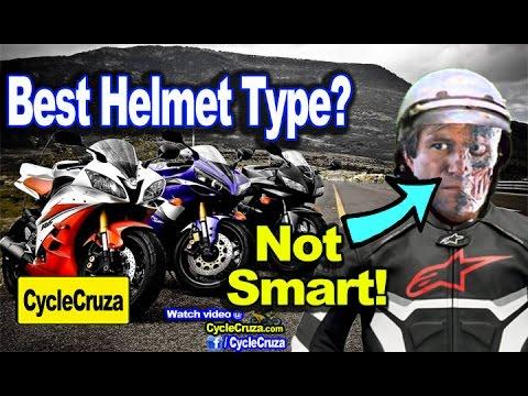 Best Motorcycle Helmet Type? Avoid These Helmets | MotoVlog