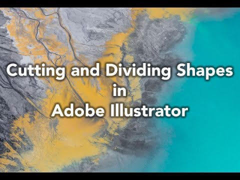 How the ... Cutting and Dividing Shapes in Adobe Illustrator