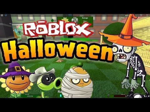 Roblox: Plants vs Zombies! - Halloween Update