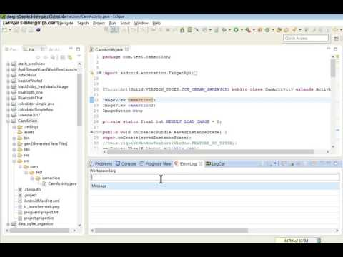 Android Eclipse Tutorial 1. LEARN ANDROID PROGRAMMING IN 24 HRS.