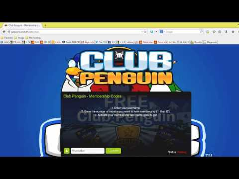 How to get free membership on Club Penguin 2014
