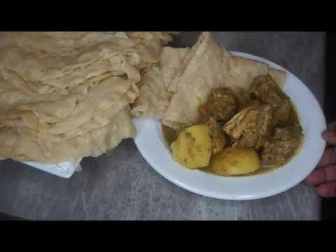 How to make Guyanese Roti