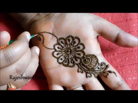 simple arabic henna mehndi designs for hands || arabic mehndi designs for hands step by step