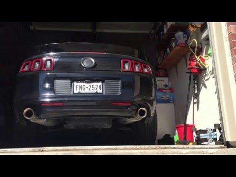 2013 mustang GT with Magnaflow exhaust