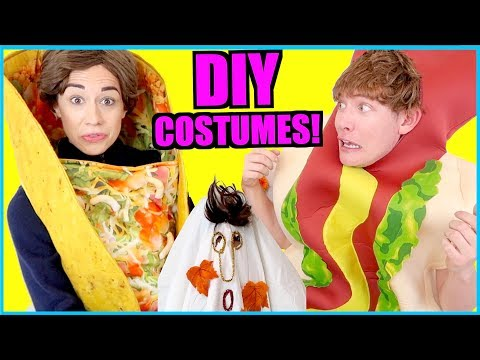 D.I.Y. EASY FREE HALLOWEEN COSTUMES!