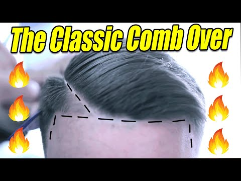 COMB OVER ✂️ SCISSOR WORK | HAIR TUTORIAL | CLEAN CUT | Corte de pelo | Barber Vidz
