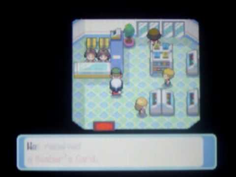 Pokemon Platinum - New Darkrai WiFi Event