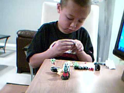How to build a Bionicle
